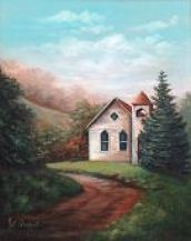 Hill Country Church   Pattern Packet